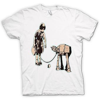Mens T-shirt - Banksy Graffiti Art - Fetch
