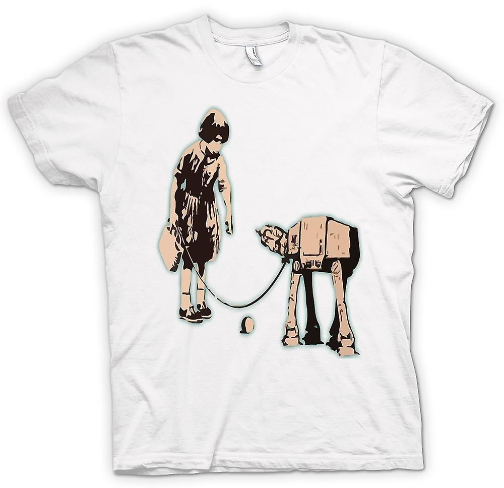 T-shirt - Graffiti di Banksy arte - Fetch