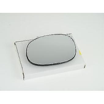 Left Mirror Glass (heated) & Holder for PEUGEOT 206 CC 2000-2010