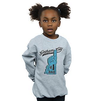 DC Comics Girls Batman Nummer eins Dad Sweatshirt