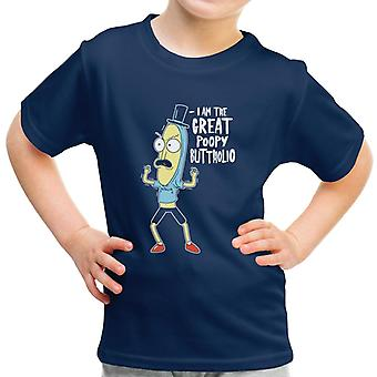 Rick und Morty Poopy Butthole Kid-t-Shirt