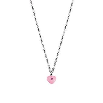 Scout children necklace chain silver plated pink girls 261103200