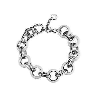 Esprit Damen Armband Armkette Edelstahl marin white ESBR11380B180