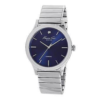 Kenneth Cole New York mannen pols horloge analoge roestvrijstaal 10025945