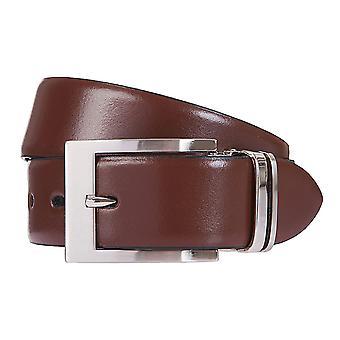 LLOYD Men's belt belts men's belts leather belt Brown/brandy 6833
