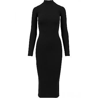 Urban Classics Damen Kleid Longsleeve