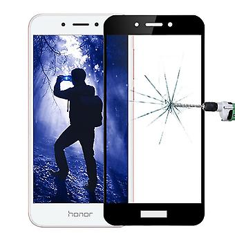 For Huawei honor 6A 3D premium 0.3 mm H9 tempered black glass slide protection cover new