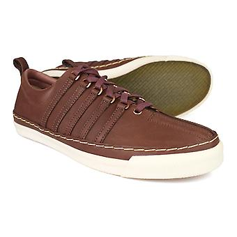 K-Swiss Arlington VT Brown Mens Leather Trainers