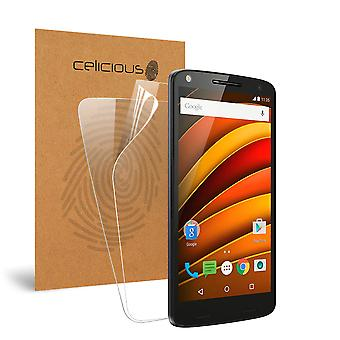 Celicious Vivid Invisible Screen Protector for Motorola Moto X Force [Pack of 2]