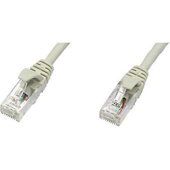 Telegärtner RJ45 redes Cable CAT 5e 2 m U/UTP gris ignífugo