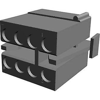 TE Connectivity Socket enclosure - cable MATE-N-LOK Total number of pins 8 Contact spacing: 5.08 mm 1-480283-0 1 pc(s)