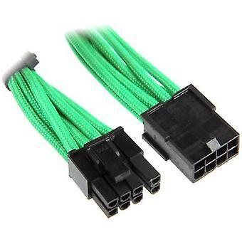BitFenix aktuelle Kabelverlängerung [1 x PCI-E Stecker 8-polig (6 + 2) - 1 x PCI-E Stecker 8-polig] 45 cm grün, schwarz