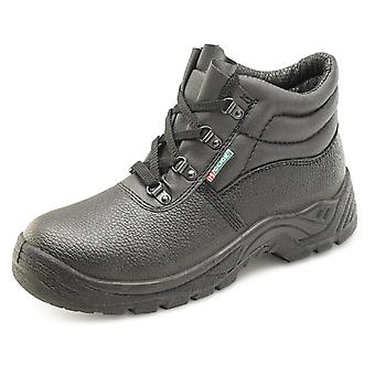 Click Dual Density Chukka Safety Boot With Midsole Black. S1 - Cddcms