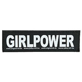 Julius K9 Velcro Aufkleber Girlpower