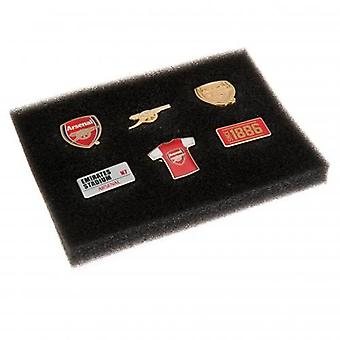 Arsenal 6 stykke Badge sæt