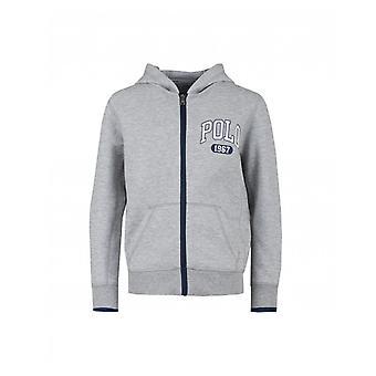 Polo Ralph Lauren Childrenswear Double Knit Polo Logo Hoody