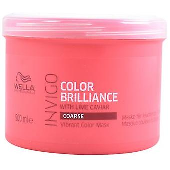 Wella Professionals Invigo Brilliance Mask Coarse Hair 500 ml (Hair care , Hair masks)
