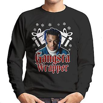 Gangsta-Wrapper XXXTentacion Weihnachten Herren Sweatshirt
