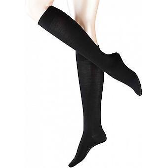 Sensible a Falke Berlín calcetines hasta la rodilla - negro