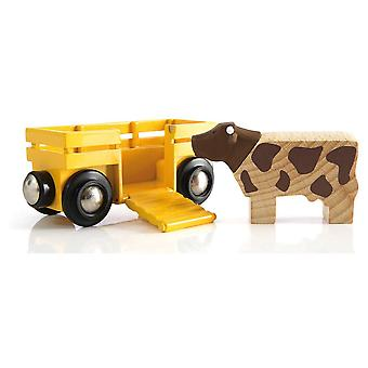 Brio Cow & Wagon