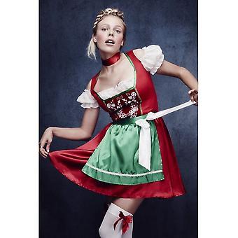 Smiffy's Fever Christmas Dirndl Costume