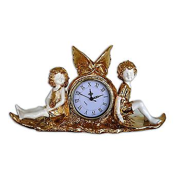 Clock with two Angels 38x22x11 cm