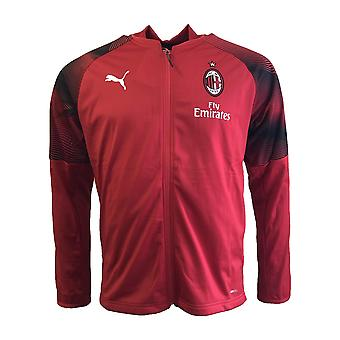 2018-2019 AC Milan Puma Poly Training Jacket (Red)