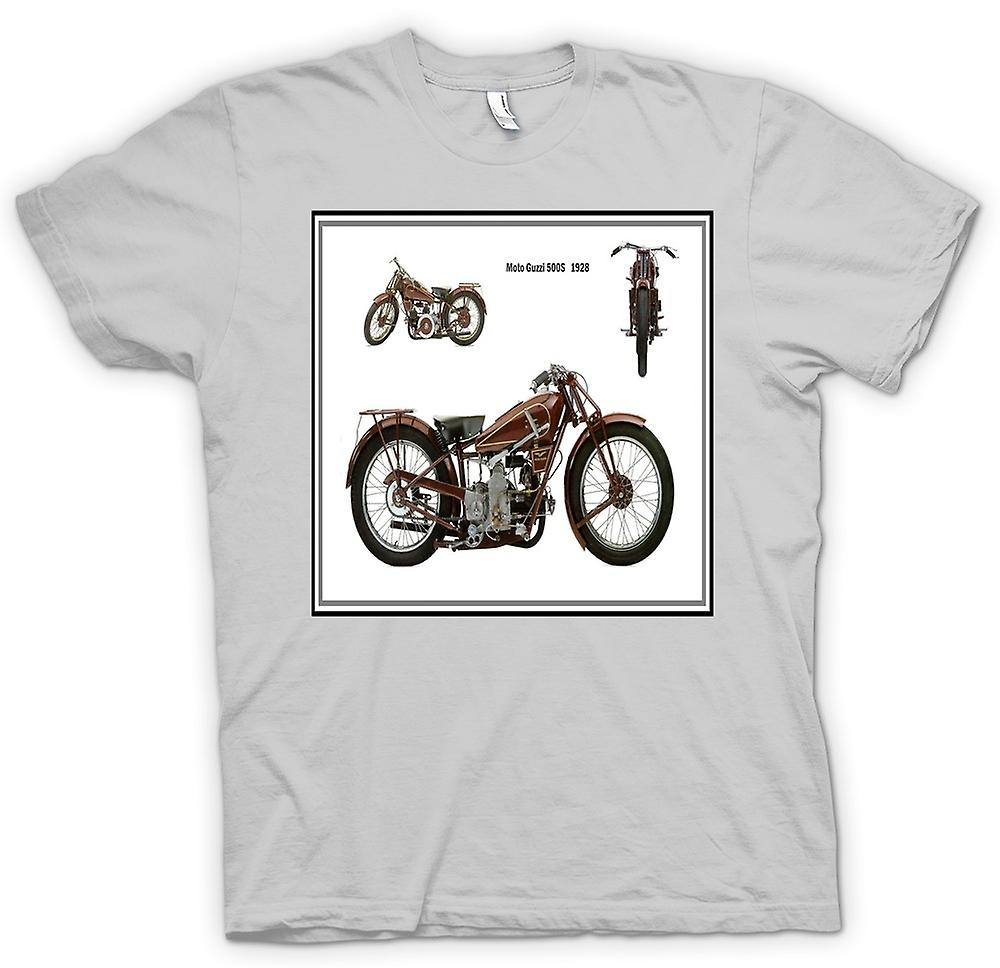 Mens T-shirt - Moto Guzzi 500S 1928 Classic Bike