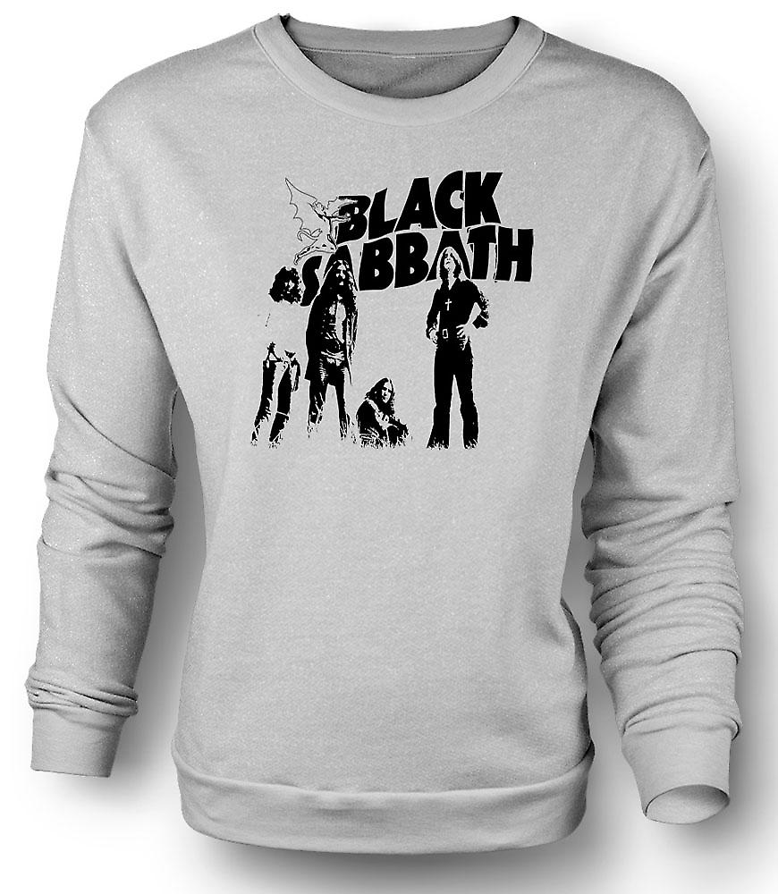 Mens Sweatshirt Sabbat - metalen duivel