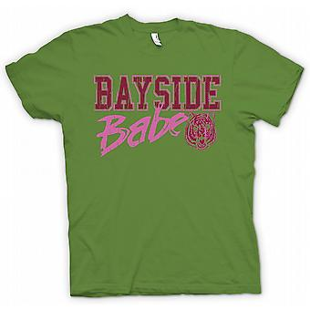 Womens T-shirt - Bayside Babe - Bayside Tigers - Funny