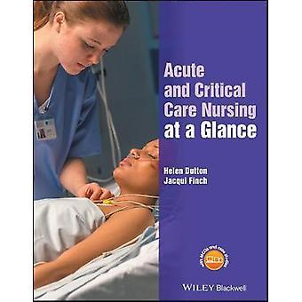 تمريض الرعاية الحادة والحاسمة في لمحة من جاكي فينش-9781118