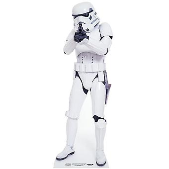 Stormtrooper Star Wars Lifesize kartong Cutout / Standee