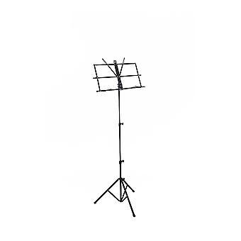 WorldOfMusic profesional plegable atril portaplacas - Portable, plegable y ajustable - conveniente para el estudio en casa concierto desempeño docente - latón instrumentos percusión cuerdas instrumentos