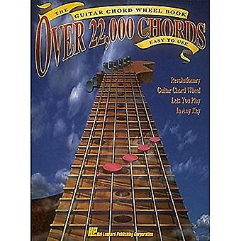 The Guitar Chord Wheel Book: Over 22,000 Chords