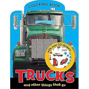 Lastbilar Mini målarbok