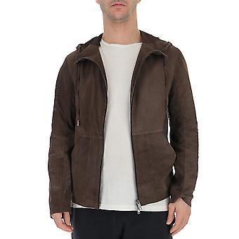 Desa 1972 Brown Suede Outerwear Jacket