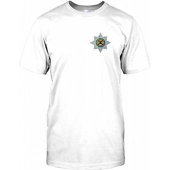 Britiske hæren irske vakter - brystet Logo Kids T skjorte