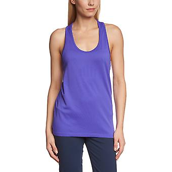 Reebok Womens Playdry Gym Weste Tank Top Fitness Training Tee - lila