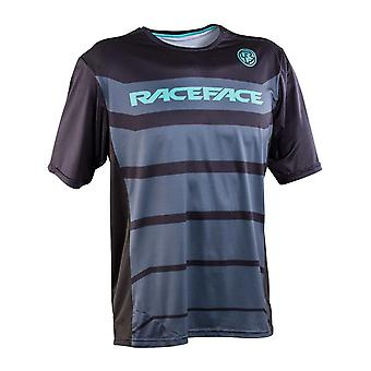 Race Face Black Indy Short Sleeved MTB Jersey