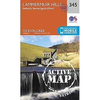 Lammermuir Hills by Ordnance Survey - 9780319472170 Book