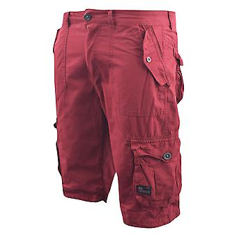 Mens campitura chinos Cargo Shorts jeans Combat 3/4 ginocchio lunghezza Mayfield