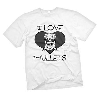 Dame T-shirt - jeg elsker multe - sjove - humor