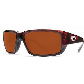 Costa Del Mar Fantail polarizado gafas de sol de los hombres tortuga TF-10-OCGLP