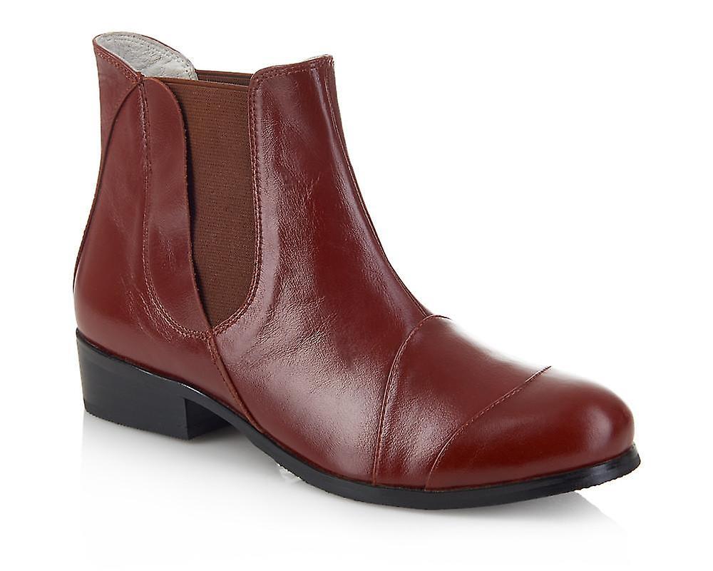 Fulham auburn shoes