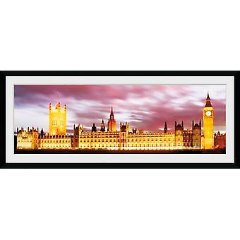 Londen Big Ben ingelijst Collector Print 75x30cm