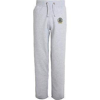 Northamptonshire Regiment Veteran - Licensed British Army Embroidered Open Hem Sweatpants / Jogging Bottoms