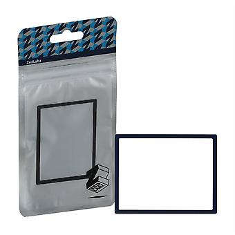 Replacement screen lens plastic cover for nintendo ds lite [ndsl] - navy blue