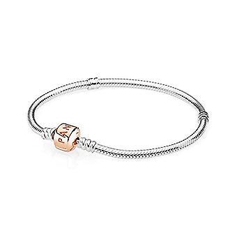 Pulsera de Pandora con encanto de mujer de plata - 580702-17