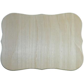 Unfinished Wood Baltic Birch Plaque 1 Pkg Roman 7.5
