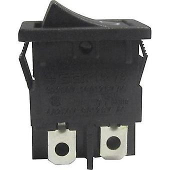 Toggle switch 250 Vac 6 A 2 x Off/On SCI R13-73A-02 latch 1 pc(s)